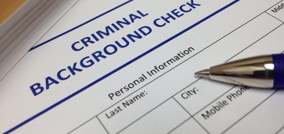background check from the Department of Justice