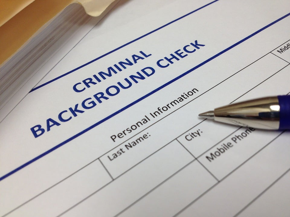 background check from the department of justice  mr
