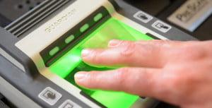No Ink Fingerprinting